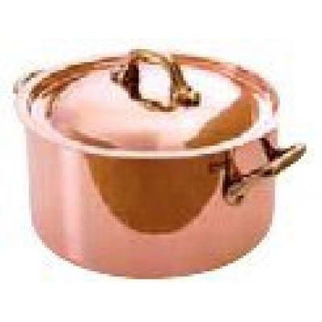 Picture of Saucepot 2 Ply Copper 160x90mm 1800ml W Lid Series 5200