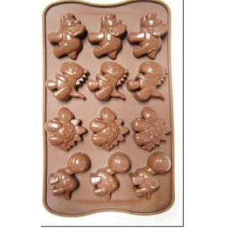 Picture of Silicon Dino Moulds