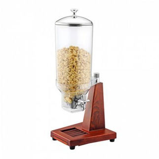 Picture of Single Cereal Dispenser Wood Base 280 x 265 x 680mm