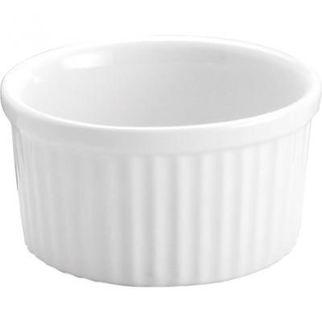 Picture of Souffle Dish 175mm 1lt White Vitroceram