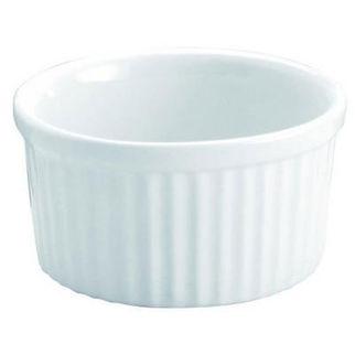 Picture of Souffle Dish White 90ml Vitroceram