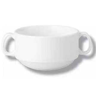 Picture of Soup Cup 350ml 2xhdl Stack Maxim Saucer