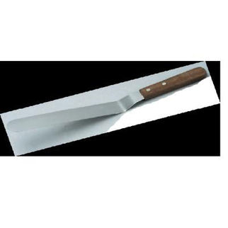 Picture of Spatula Cranked S S 150x19mm 6 Wood Handle
