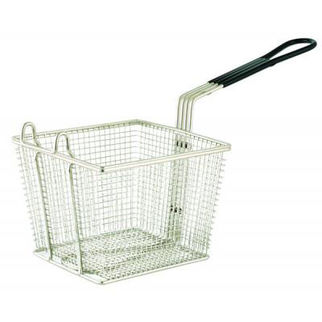 Picture of Square Chrome Plated Frying Basket 150mm 200mm