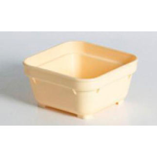 Picture of Square Insulated Bowl Yellow