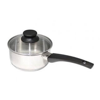 Picture of Stainless Steel Saucepan 16cm with Glass Lid