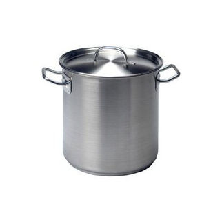 Picture of Stockpot-18/10 98lt 500x500mm w/lid