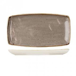 Picture of Stonecast Rectangular Plate 295 X 150mm Peppercorn Grey