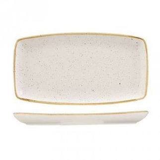 Picture of Stonecast Rectangular Plate 350 X 185mm Barley White