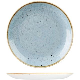 Picture of Stonecast Round Coupe Plate 217mm Duck Egg Blue