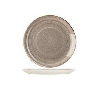 Picture of Stonecast Round Coupe Plate 217mm Peppercorn Grey