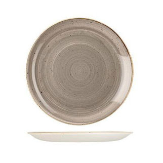 Picture of Stonecast Round Coupe Plate 260mm Peppercorn Grey