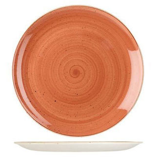 Picture of Stonecast Round Coupe Plate 288mm Spiced Orange
