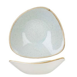 Picture of Stonecast Triangular Bowl 185mm Duck Egg Blue