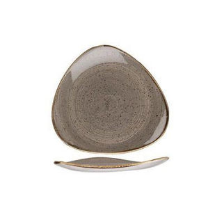 Picture of Stonecast Triangular Plate 192mm Peppercorn Grey