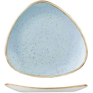 Picture of Stonecast Triangular Plate 260mm Duck Egg Blue