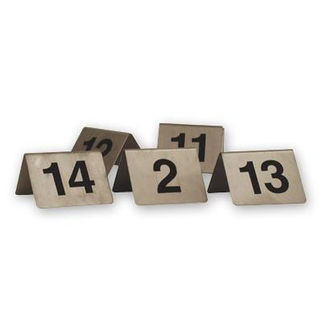 Picture of Table Number Set  41-50