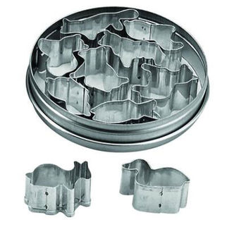 Picture of Tin Animal Cutters 10pc 35