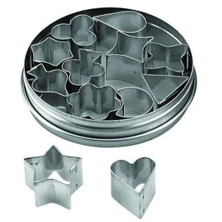 Picture of Tin Aspic Cutters Set 12pc 15mm