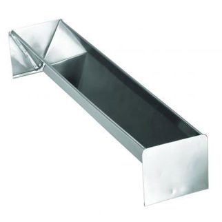 Picture of Triangular Yule Log Mould Stainless Steel 78mm