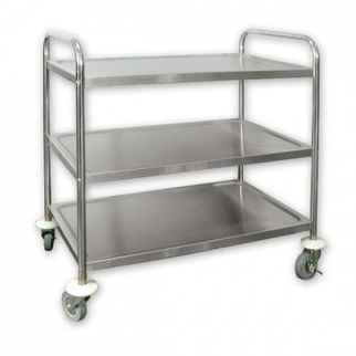 Picture of Trolley Extra Heavy Duty 5 Inch Casters 3 Shelf 710x405x810mm