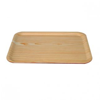 Picture of Wood Tray Rectangle birch 550mm