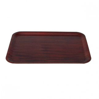 Picture of Wood Tray Rectangle mahogany
